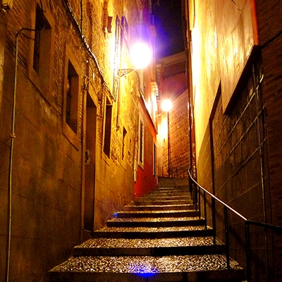 Toledo. Cuesta de la Ciudad