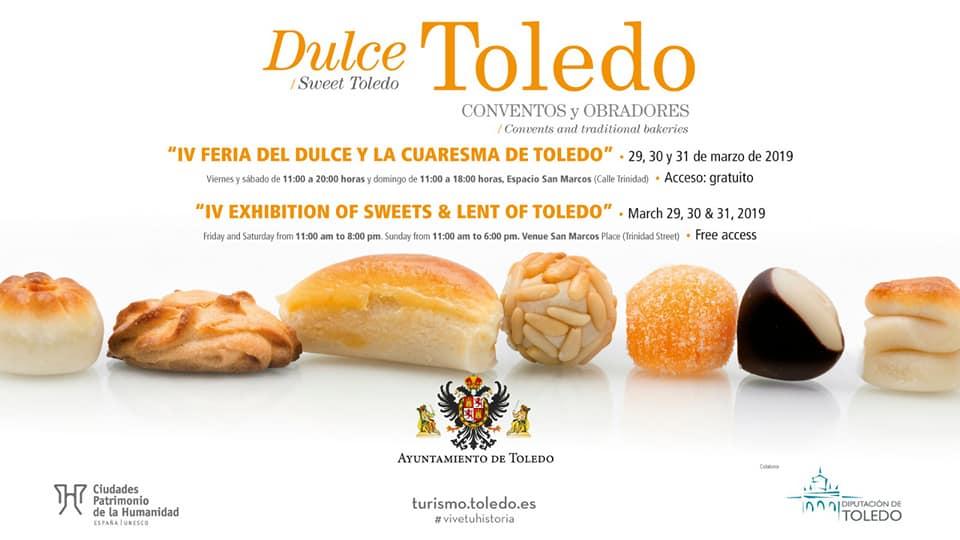 Dulces de Cuaresma en Toledo